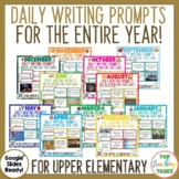 Daily Writing Prompts FULL YEAR Bundle US
