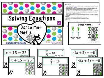BUNDLE Dance Mat Math