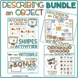 "BUNDLE "" Describing objects"" + bonus"