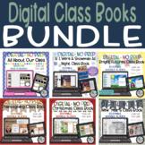 BUNDLE - Digital Class Books Writing Activities