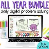 BUNDLE Digital Interactive Math Google Slides Problem Solv
