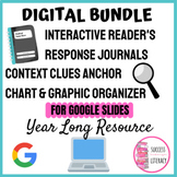 BUNDLE: Digital Reader's Response Journal & Context Clues