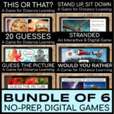 Digital Morning Meeting Games | Digital Fun Friday Activities