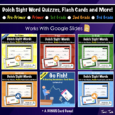 BUNDLE Dolch Sight Word Quiz (All Levels) - Distance Learn