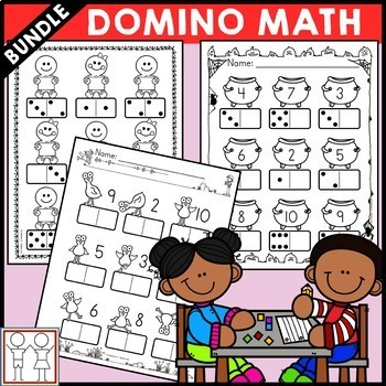 BUNDLE: Domino Math Worksheets