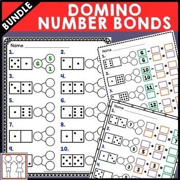 BUNDLE: Domino Math Centers