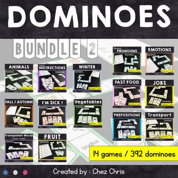 Dominoes - 14 games BUNDLE Set 2