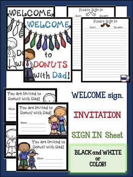 BUNDLE! Donuts with Dad & Muffins with Mom Activity Packs