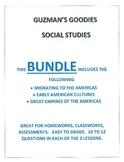 BUNDLE #2 EARLY AMERICAN CIVILIZATIONS