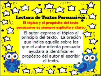 BUNDLE ENGLISH & SPANISH Reading Persuasive Text (Lectura de Texto Persuasivo)