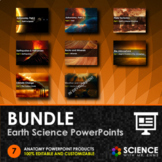 BUNDLE - Earth Science PowerPoints + Student Notes - Dista