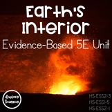 Understanding Earth's Structure: Evidence-Based -- 5E Unit Plan (NGSS HS-ESS2-3)