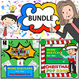 BUNDLE: Elementary Music Sub Plans for a Non-Musical Substitute