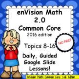 enVision Math 2.0 Common Core 4th Grade Volume 2 BUNDLE To