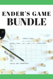 Ender's Game BUNDLE: Battle School Packet, Review Game, Writing Prompts