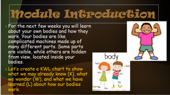 BUNDLE - Engage NY:  Module 2 - The Human Body:  Lessons 1 - 10