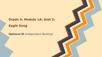 BUNDLE Engage New York ELA Grade 4: Module 1A: Unit 2: Eagle Song