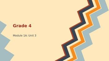 BUNDLE Engage New York ELA Grade 4: Module 1A: Unit 3: Lessons 1-7