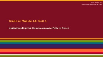 BUNDLE Engage New York ELA Module 1 Lessons 1-5 Fourth Grade