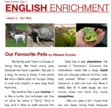 BUNDLE - English Enrichment Level 1 (FULL)