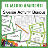 BUNDLE!!! Environment themed Spanish resources | El medio
