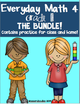 BUNDLE** Everyday Math Grade 1 Practice Tests