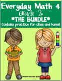 BUNDLE** Everyday Math Grade 2 Practice Tests