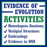 Evidence of Evolution Activity **BUNDLE**  BUY 3 GET 1 FREE