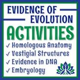 Evidence of Evolution Activity BUNDLE NO PREP BUY 3 GET 1 FREE
