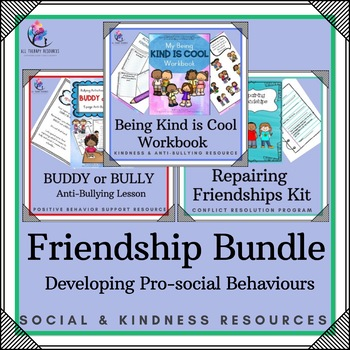 BUNDLE - 11 x FRIENDSHIP RESOURCES- Bucket Fillers, Workbooks, Activities