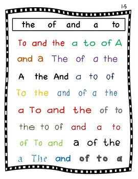 """BUNDLE: FRY Sight Word Intervention""""Seek and Find"""" 1st and 2nd 100 (Words 1-200)"""