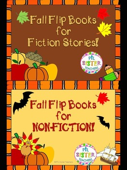 BUNDLE: Fall Flip Books for FICTION and NON-FICTION