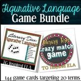 BUNDLE -- Figurative Language Games: Literary Analysis Rev