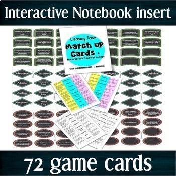 BUNDLE -- Figurative Language Games: Literary Analysis Review for STAAR -- CCSS