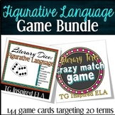 BUNDLE -- Figurative Language Games: Literary Analysis Rev