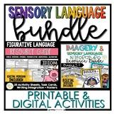 BUNDLE Figurative Language & Imagery/Sensory Language Resource Guides