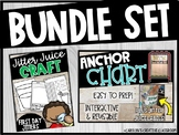 BUNDLE First Day Jitters | Jitter Juice Activities (Craft, Writing, and Graph)