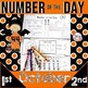 Number of the Day, First Grade Activities for the Year NO PREP, JUST PRINT