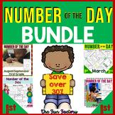 #bundleupwithtpt Number of the Day, First Grade Activities