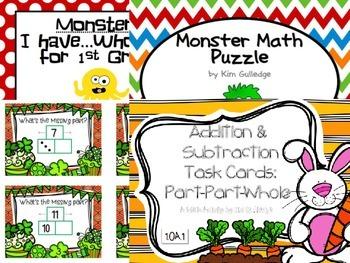 BUNDLE: First Grade Task Cards