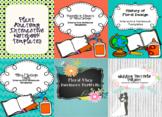 Floral Design Interactive Notebook Starter Bundle