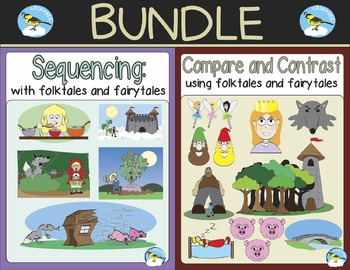 (BUNDLE) Folktales and Fairytales: Compare & Contrast and Sequencing