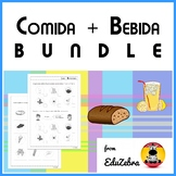 BUNDLE - Food and Beverage in Spanish - Comida y Bebida