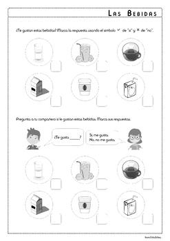Food and Beverage in Spanish - BUNDLE - Comida y Bebida