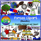 Forces Clipart- Types of Forces, Momentum, Impulsive Force