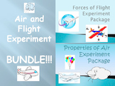 """BUNDLE: """"Forces of Flight"""" and """"Properties of Air"""" Experim"""