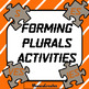 Forming Plurals: Animated PowerPoint BUNDLE - LESSON PLAN + Activities