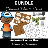 Forming Plurals: Animated PowerPoint BUNDLE - LESSON PLAN