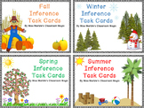BUNDLE - Four Seasons Inference Task Card Sets