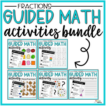 BUNDLE Fraction Guided Math Activities